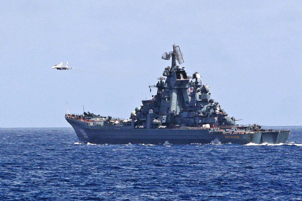 Russia navy russian warship ship war red star peter velikiy admiral-chabanenko 4000x2665 wallpaper