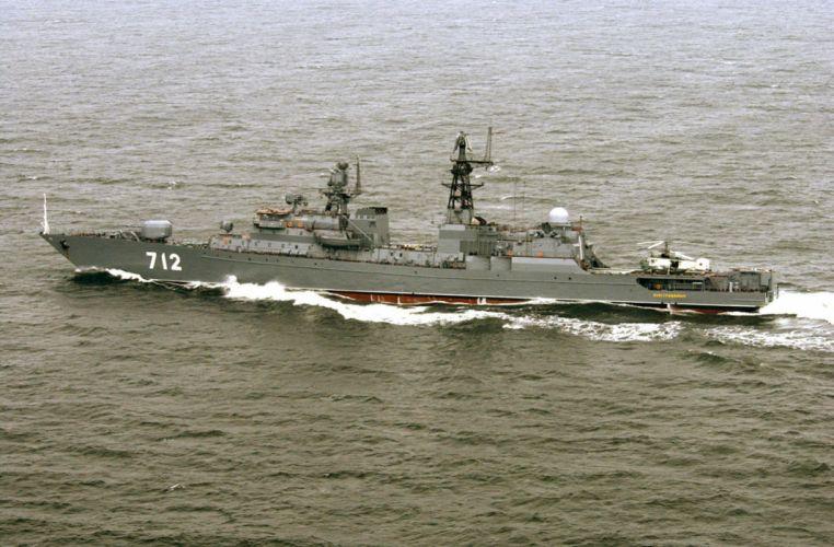 Russia navy russian warship ship war red star neustrashimy 4000x2625 wallpaper