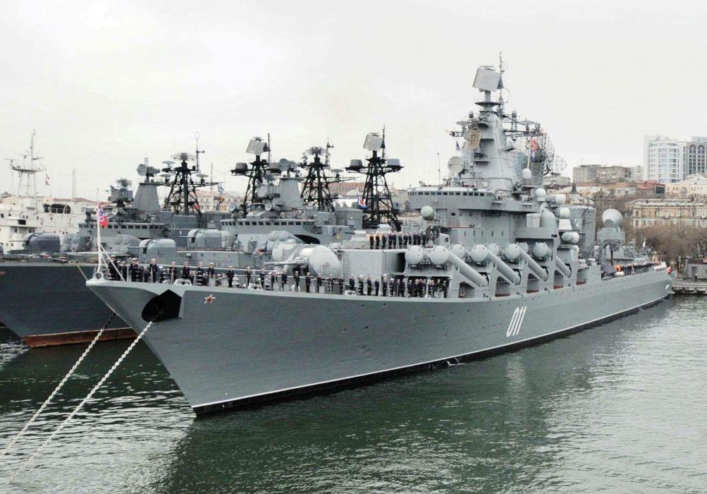 Russia navy russian warship ship war red star sea wallpaper
