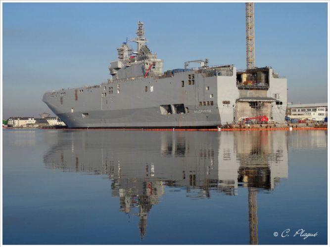Russia navy russian warship ship war red star UDC STX BPC-SEVASTOPOL 4000x3000 wallpaper