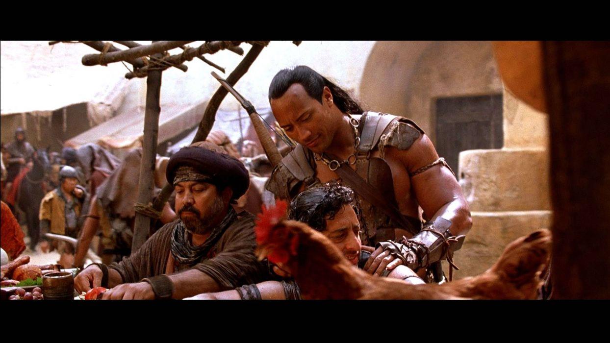 SCORPION KING action adventure fantasy film movie (13) wallpaper