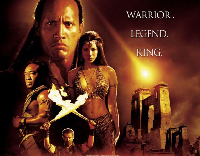 SCORPION KING action adventure fantasy film movie (17) wallpaper