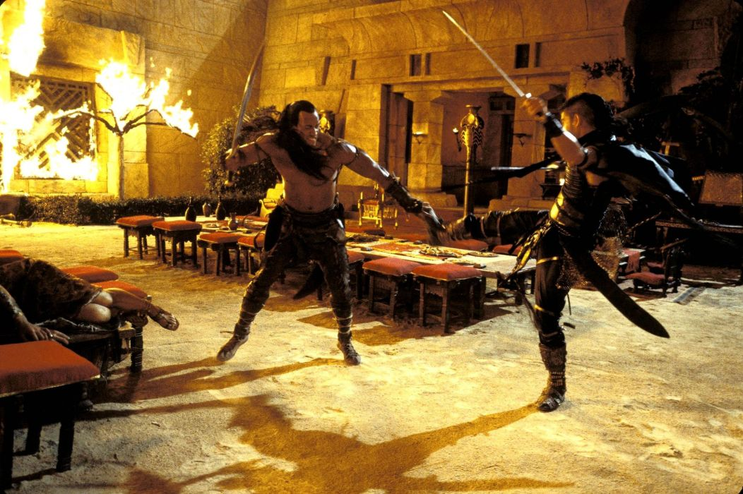 SCORPION KING action adventure fantasy film movie (35) wallpaper