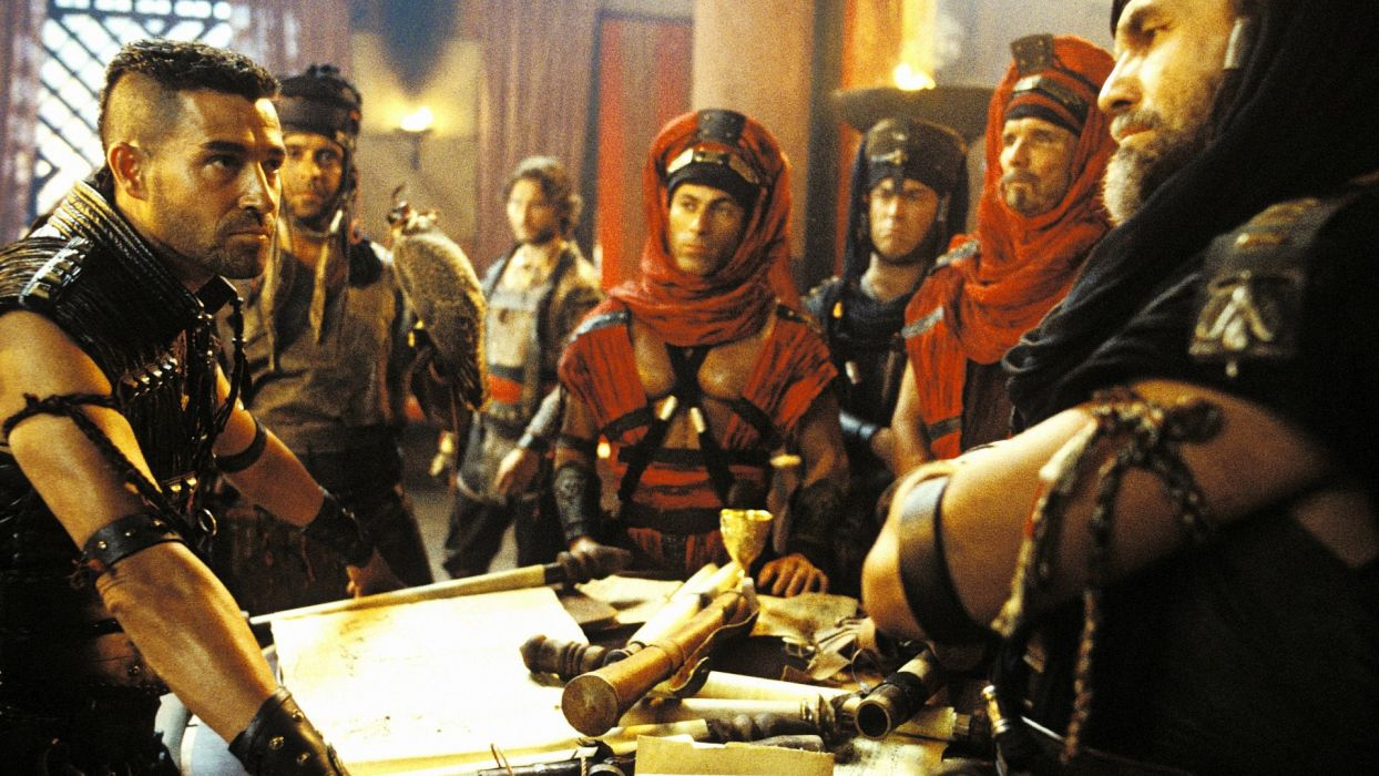 SCORPION KING action adventure fantasy film movie (50) wallpaper