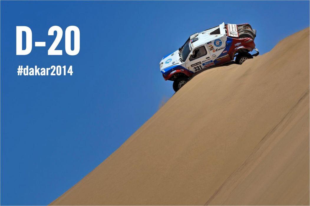 dakar rally race car racing desert sand 4000x2662 wallpaper