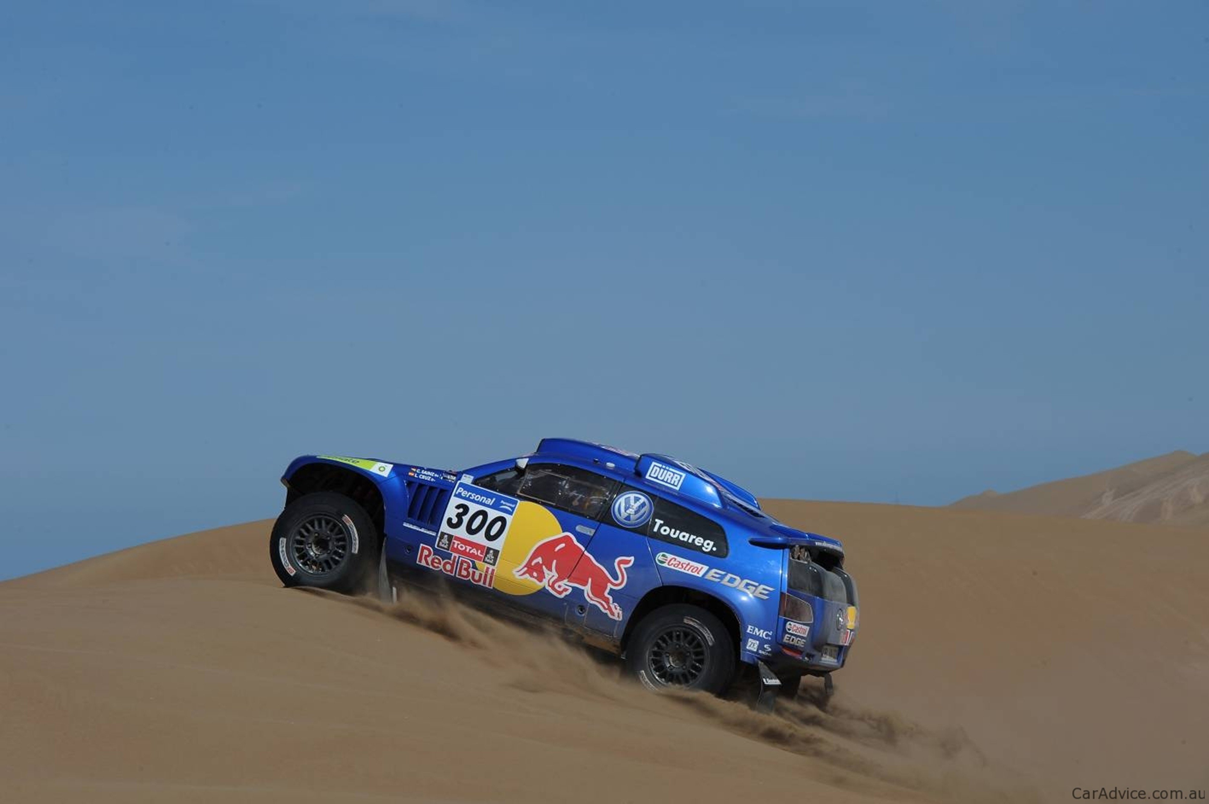 Car Racing in The Desert Racing Car Sand Desert