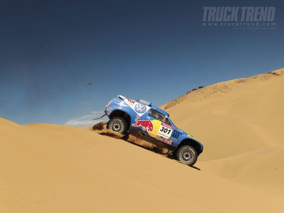 dakar 2009 volkswagen Race Touareg racing car sand desert rally 4000x3000 wallpaper