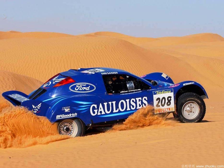 rally dakar ford bug desert car race sand racing 4000x3000 wallpaper