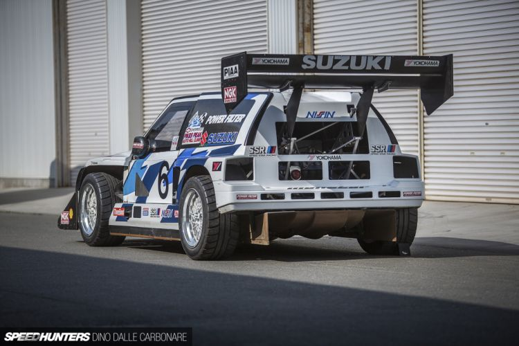 Twin-Engine Escudo suzuki racing car race rally 15 4000x2667 wallpaper