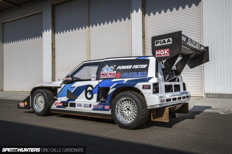 Twin-Engine Escudo suzuki racing car race rally 14 4000x2667 wallpaper