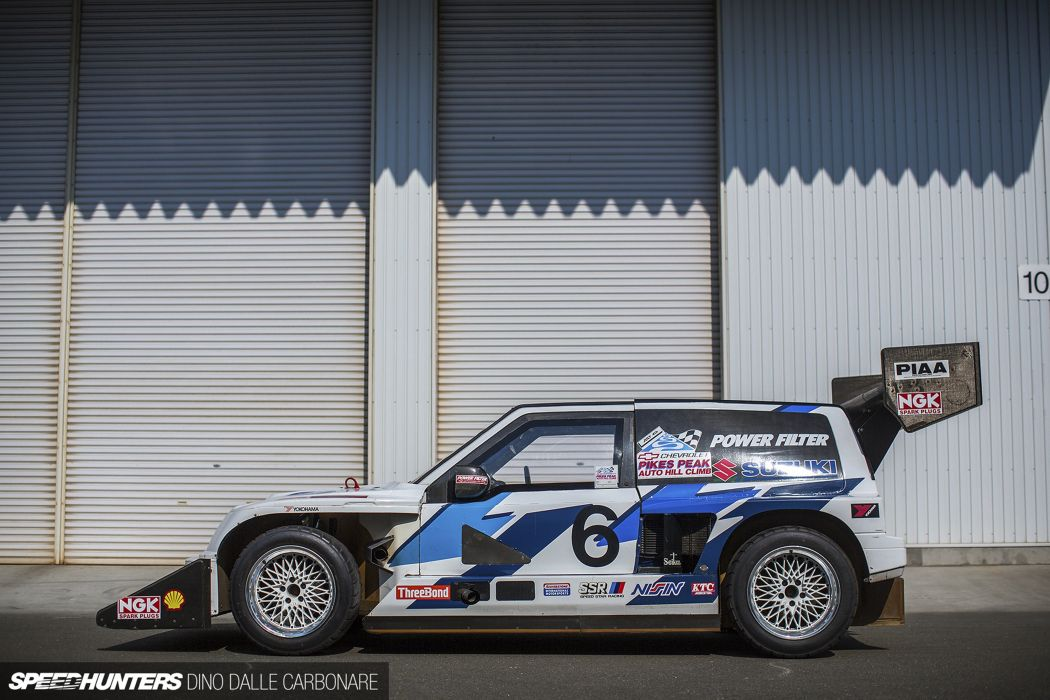Twin-Engine Escudo suzuki racing car race rally 021 4000x2667 wallpaper