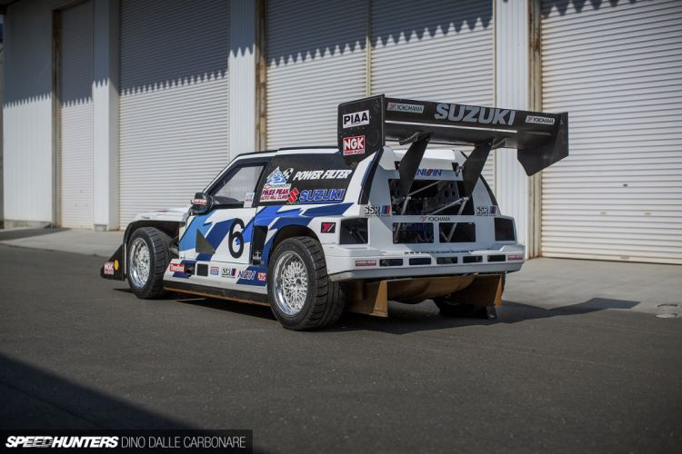 Twin-Engine Escudo suzuki racing car race rally 4000x2667 wallpaper