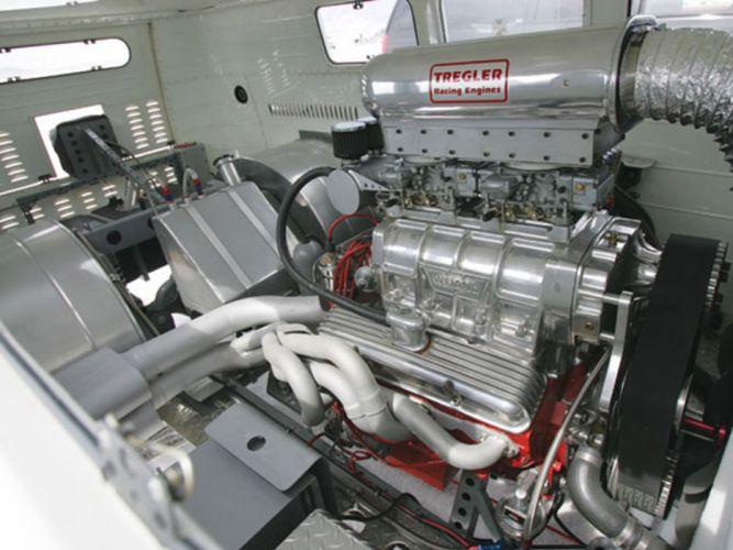 volkswagem bus engine-v8 tunning car engine 4000x3000 wallpaper