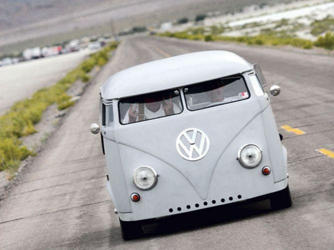 volkswagem bus engine-v8 tunning car front 4000x3000 wallpaper