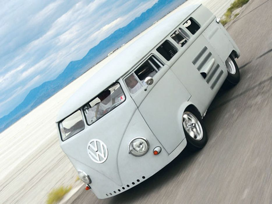 volkswagem bus engine-v8 tunning car 4000x3000 wallpaper
