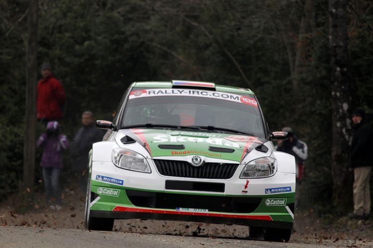 race rally racing car skoda wrc wallpaper