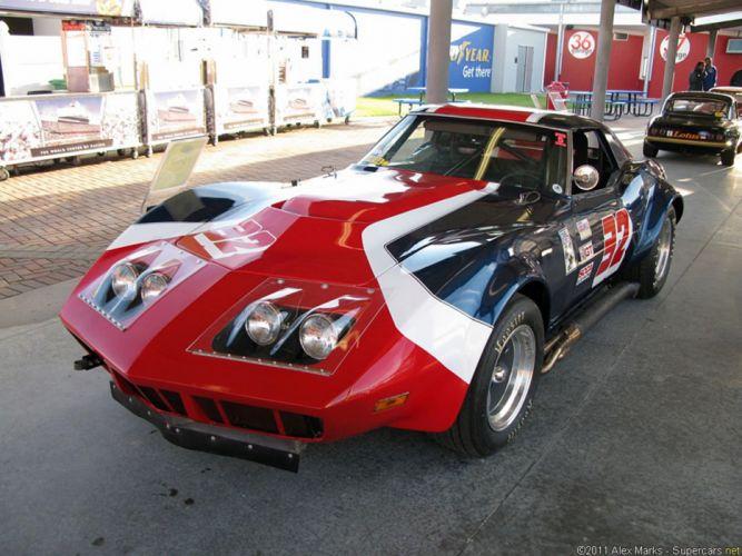 chevrolet corvette race classic car racing wallpaper