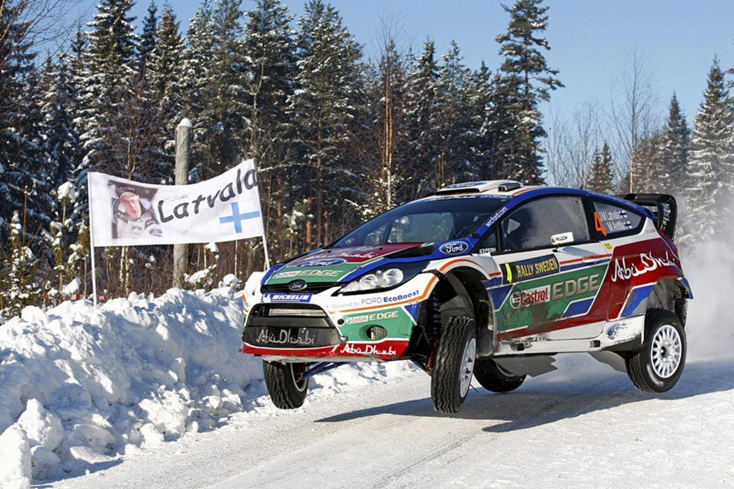 race rally racing car ford fiesta wrc wallpaper
