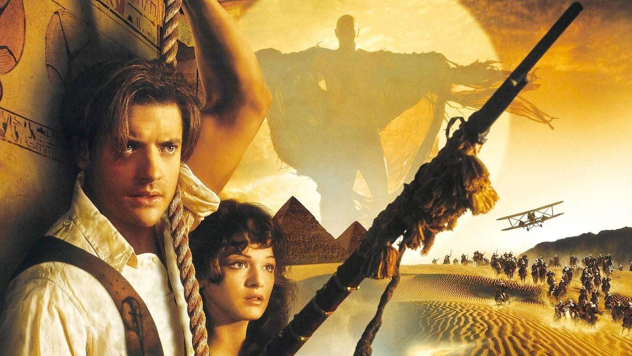 THE MUMMY action adventure fantasy movie film (3) wallpaper
