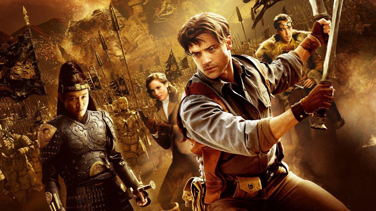 THE MUMMY action adventure fantasy movie film (2) wallpaper