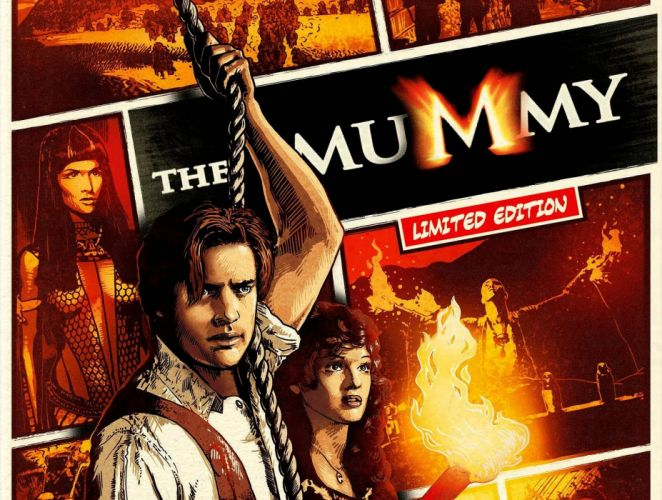 THE MUMMY action adventure fantasy movie film (49) wallpaper