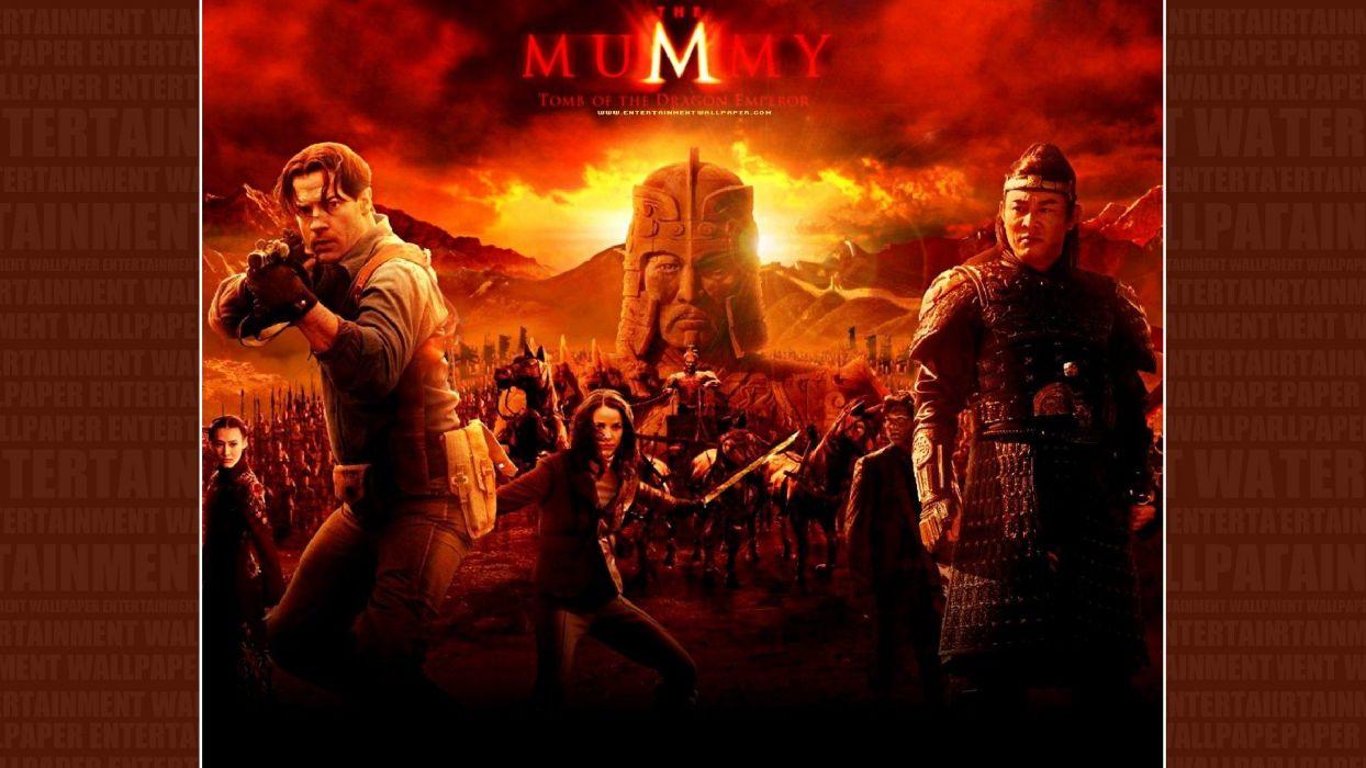 THE MUMMY action adventure fantasy movie film (45) wallpaper