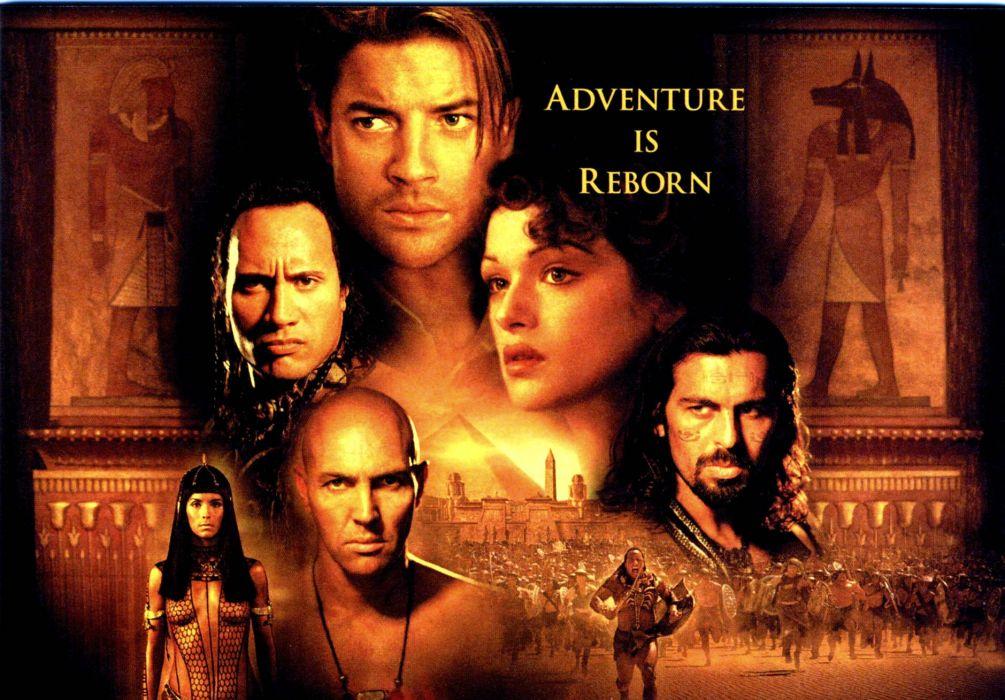 THE MUMMY action adventure fantasy movie film (16) wallpaper