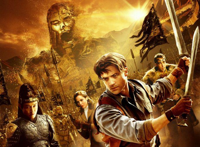 THE MUMMY action adventure fantasy movie film (12) wallpaper