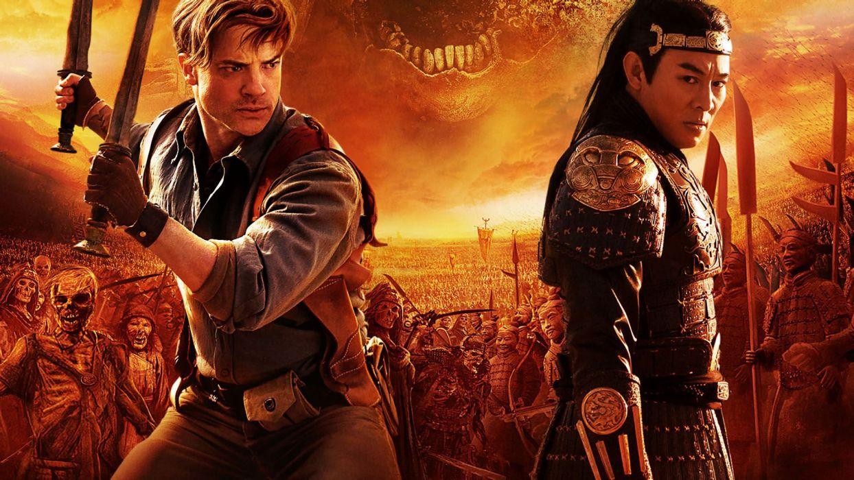 THE MUMMY action adventure fantasy movie film (46) wallpaper