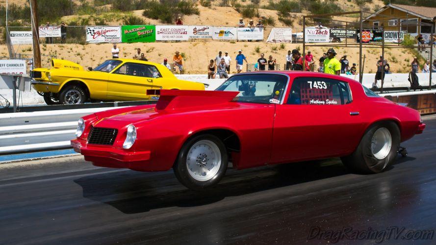 DRAG RACING hot rod rods race chevrolet camaro d wallpaper