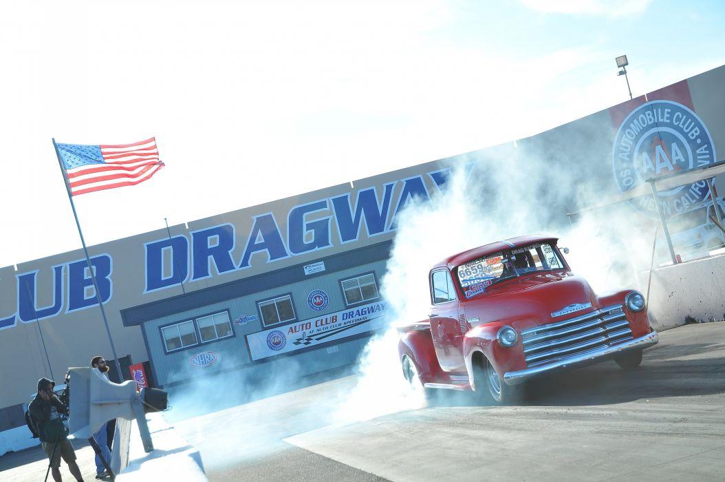 DRAG RACING hot rod rods race chevrolet pickup    f wallpaper