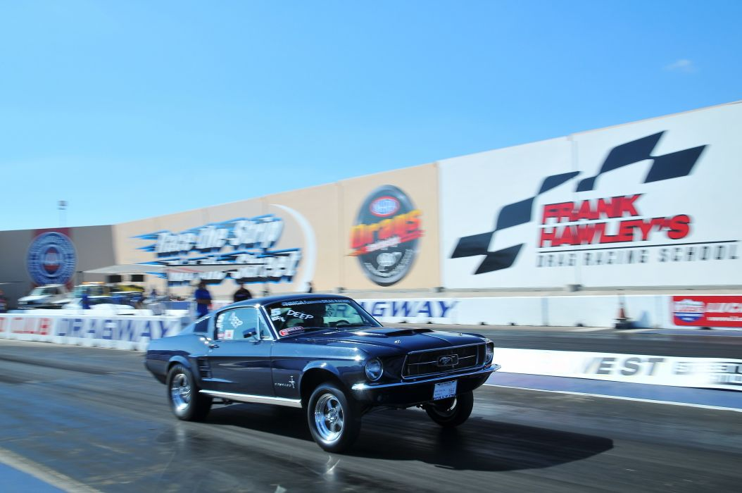 DRAG RACING hot rod rods race ford mustang  d wallpaper