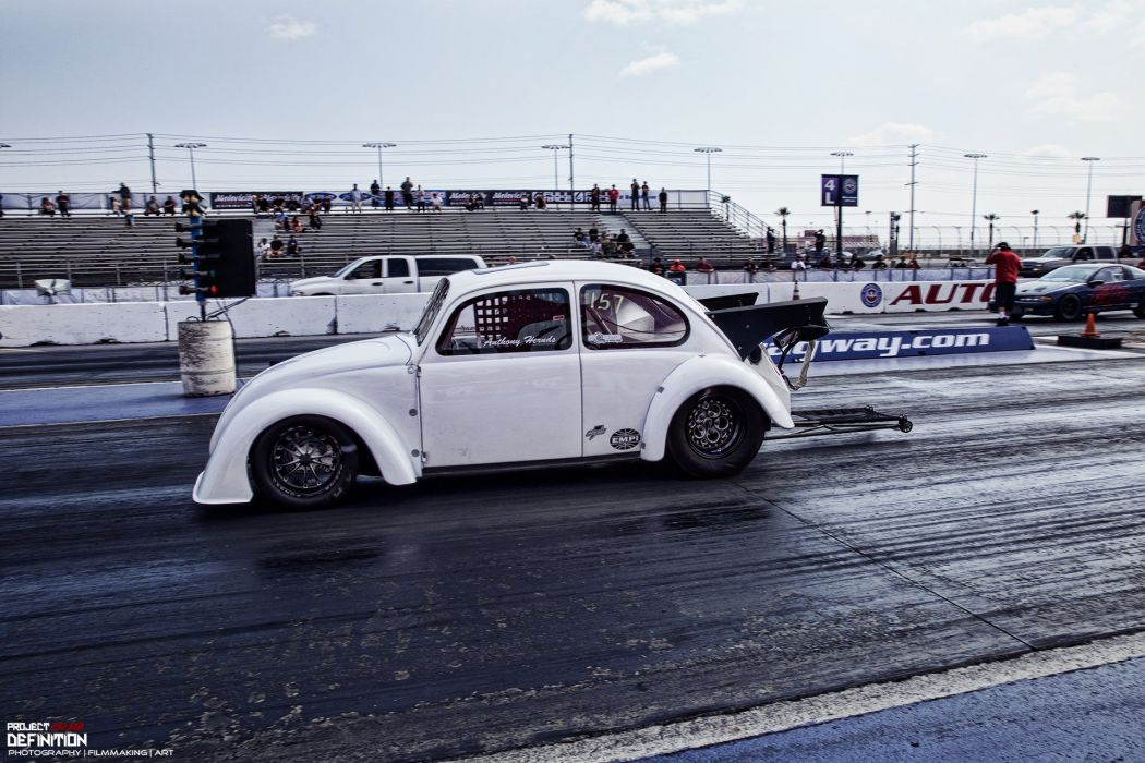 DRAG RACING hot rod rods race volkswagon beetle bug    t wallpaper