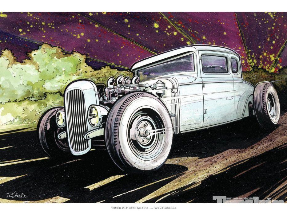 hot rod rods   hq wallpaper
