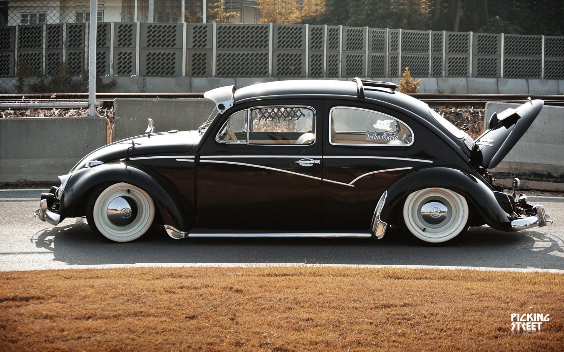 Lowrider Volkswagon Beetle Socal Wheel H Wallpaper