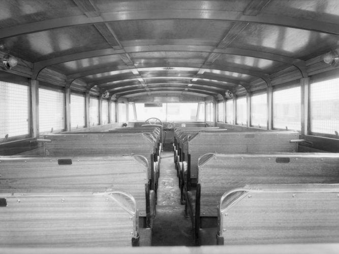 1932 ACF School Bus Crown Motor Carriage transport semi tractor retro interior g wallpaper