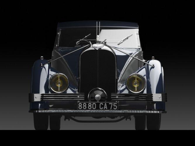 1934 Voisin C25 Aerodyne Saloon luxury retro s wallpaper