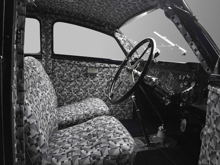 1934 Voisin C25 Aerodyne Saloon luxury retro interior    g wallpaper
