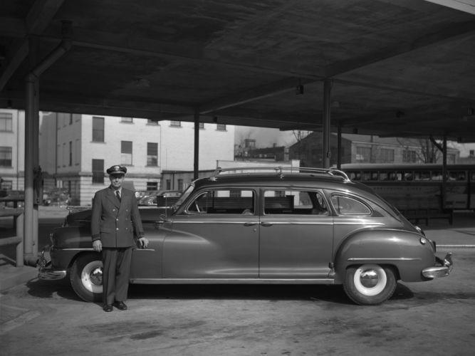 1948 DeSoto Custom Suburban (S11C) retro h wallpaper