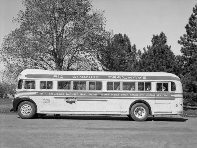 1938 ACF-Brill Model-37-P bus transport retro semi tractor f wallpaper