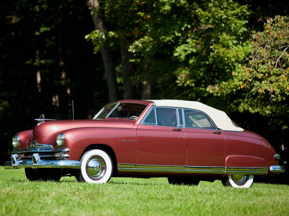 1949 Kaiser DeLuxe Convertible Sedan (K4922) retro  h wallpaper
