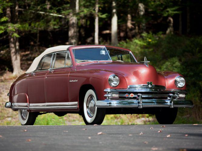 1949 Kaiser DeLuxe Convertible Sedan (K4922) retro d wallpaper