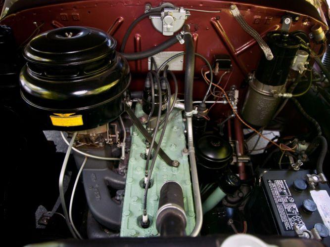 1949 Kaiser DeLuxe Convertible Sedan (K4922) retro engine g wallpaper