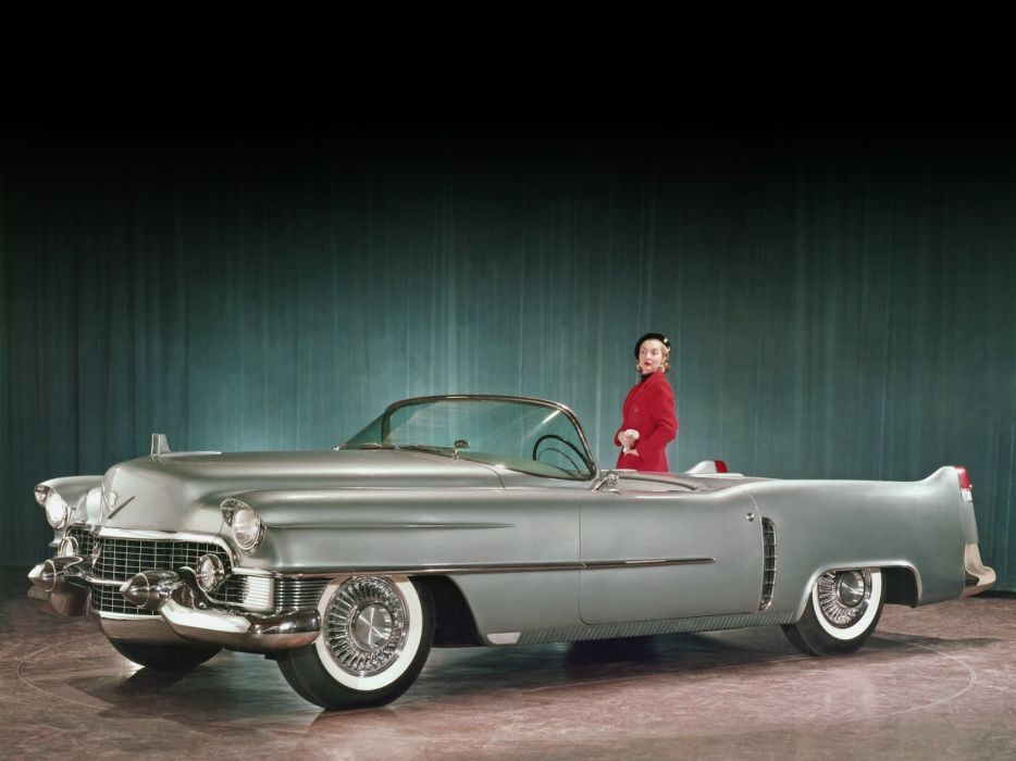 1953 Cadillac Le-Mans Concept luxury retro       g wallpaper