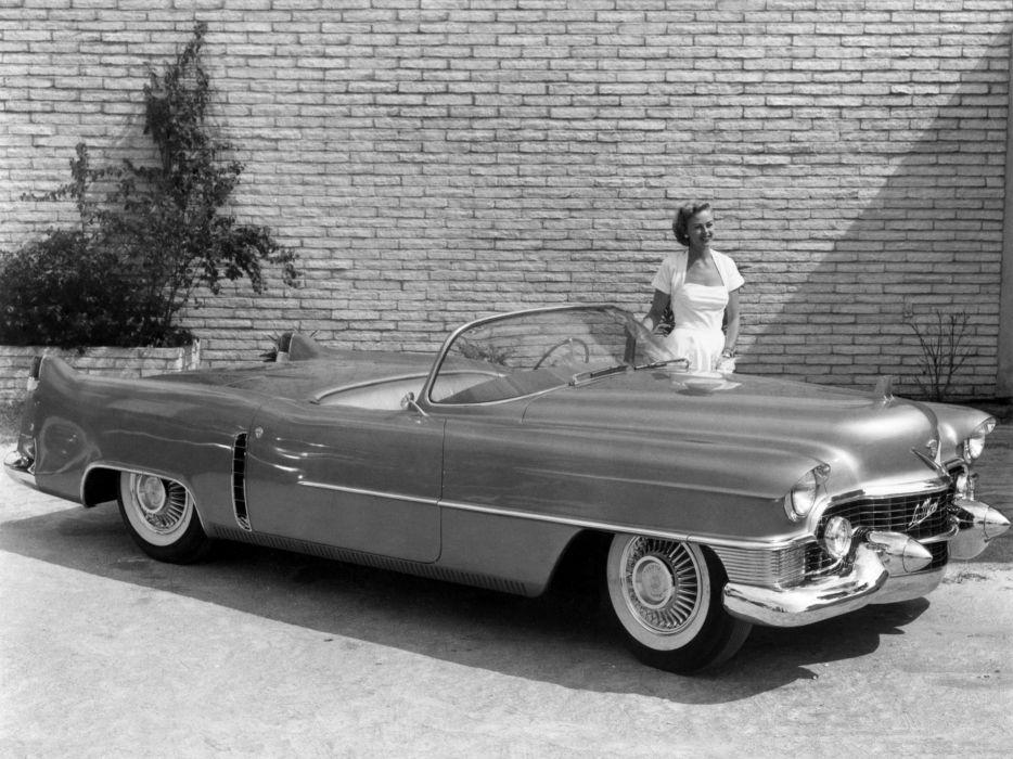 1953 Cadillac Le-Mans Concept luxury retro  r wallpaper