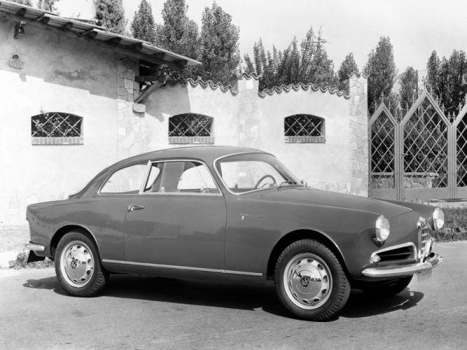 1956 Alfa Romeo Giulietta Sprint Veloce Alleggerita (750) retro h wallpaper