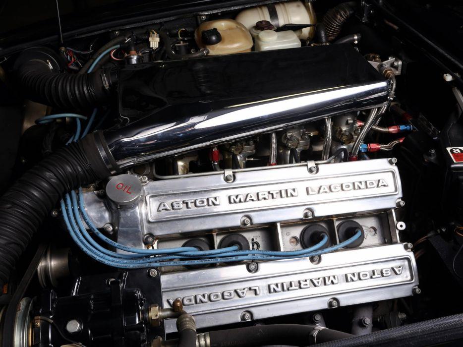 1986-89 Aston Martin V-8 Vantage Volante US-speNE engine   ds wallpaper
