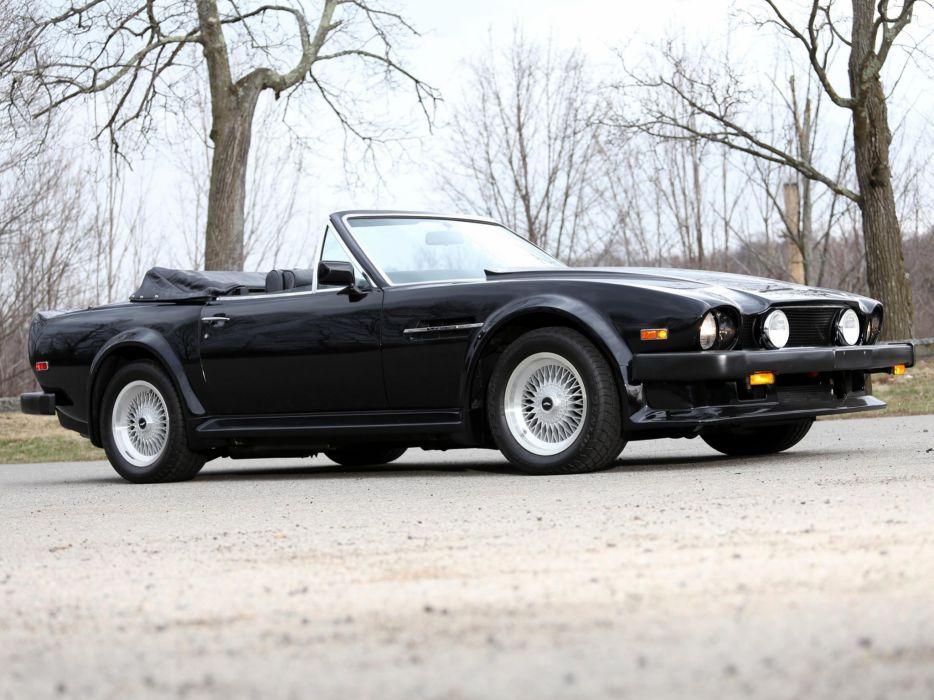 1986-89 Aston Martin V-8 Vantage Volante US-speNE   e wallpaper