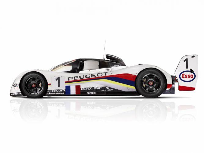 1992 Peugeot 905B Le-Mans race racing d wallpaper