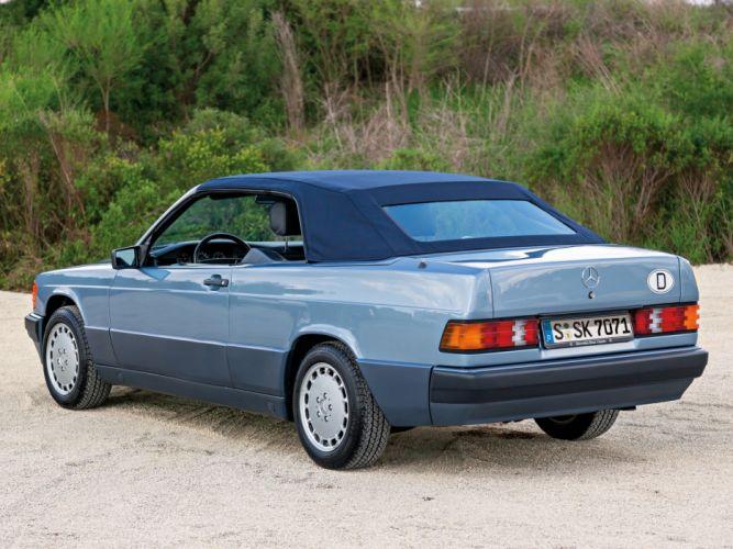 1989 Mercedes Benz 190 E Cabriolet Prototype (W201) luxury convertible rr wallpaper